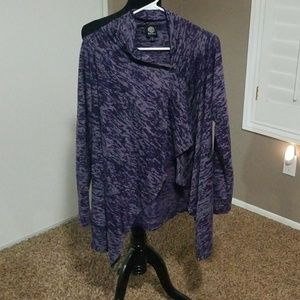 Bobeau One Button Cardigan